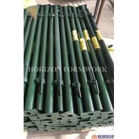 Green Painted Adjustable Telescopic Steel Props1.7-5.5m Height High Stability Manufactures