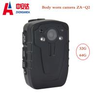 Police Body Metal Detectors Full HD Portable 2inch LCD With Worn Camera Manufactures