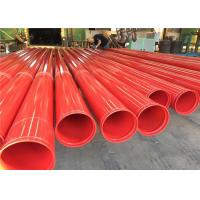 Astm A53 Astm A500 Gr.A, Gr.B, Gr.C Astm 5l Astm A795 Carbon Welded Pipe With Groove And Thread For Fire System Usage Manufactures
