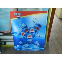 PS lenticular sheet for making large size 3d poster large format lenticular advertising poster 3d flip printing Manufactures