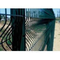 China 3D Bending Welded Wire Mesh Panels PVC Security Fence Easy Installation on sale
