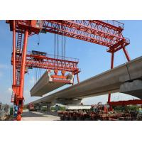 Q235B Steel Launching Gantry Crane Rated Loading 60-900 Ton Span 20-50m for sale