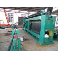 China Professional Automatic Gabion Mesh Machine PLC control For Mesh Size 80 * 100mm on sale