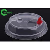 China Superb Clarity Plastic Coffee Lids For Disposable Plastic Cups Food Grade on sale