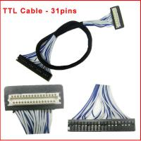 31pins TTL Cable for LCD Panel DF9-31 Manufactures
