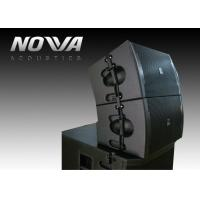 China Line Array Outdoor Theater Sound System / Pro Outdoor Subwoofer Speakers on sale