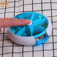 Quality Hot sell in may Portable travel medicine storage box for the elders,7 day weekly for sale