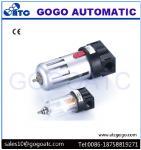 1/2 Inch Port Air Compressor Regulator , Copper Filter Cartridge Manual Air Regulator Valve Manufactures