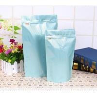PET Material 90 - 150 Thickness Coffee Packaging Bags With One Way Valve Manufactures