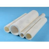 China High Alumina Ceramic Tube Alumina Sleeves High Temperature Resistance on sale