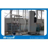 4 T/D Industrial Slurry Ice Maker  Machine For Small Fishing boat , Seawater Cooling Manufactures