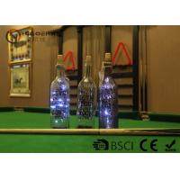 Fashionable Wine Bottle Led Lights , Wine Bottle Lights Battery Operated Manufactures