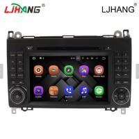 1024*600 Map Solution Mercedes Benz DVD Player 240 Dpi With Media Card