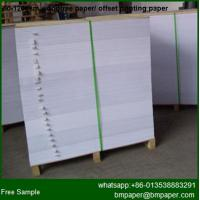 China Woodfree Printing Paper, Offset paper, Writing Paper on sale