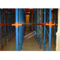 Heavy Load Drive In Racking , Galvanised Pallet Racking Storage Drive Through Racks Manufactures
