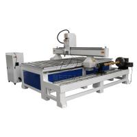 Removable  4 Axis 1325 Woodworking  CNC Engraving Machine with Dia 300 Rotary Axis Holder Manufactures