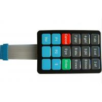 PET Keyboard Membrane Switch With Metal Dome for Telephone systems Manufactures
