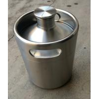 Buy cheap 2L growler min keg with screw cap on top from wholesalers