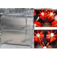 Quality Double Heads Semi Automatic Glass Bottle Cleaning Machine For Beverage Filling for sale