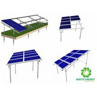 China Power Energy PV Structure Mounting System Solar Panel Brackets / Solar Panel Angle Brackets High Corrosion Resistance on sale