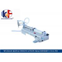 hot sale factory price semi-automatic piston water juice  liquid filling machine made in China Manufactures
