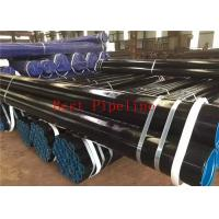 Longitudinally Electric Welded LSAW Steel Pipe 530-1220mm Diameter Grade K60 Manufactures
