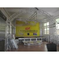 aluminum stage truss / aluminum truss for indoor concert Manufactures