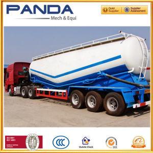 Customize 50T/60T dry bulk powder semi trailer, silo cement tanker trailer for sale Manufactures