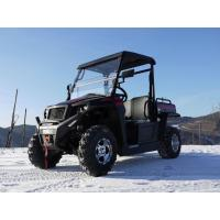 UTV 250 Tiltable Loader Winch Gas Utility Vehicles With Efi - Red , Windsheild And Towbar Manufactures