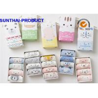 China 100% Cotton Baby Clothes Gift Set Color Customized Anti Pilling Unisex Baby Socks on sale