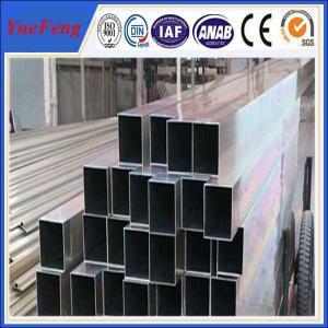 High technical shaped flat aluminium tube, aluminium tube(pipe) profile supplier in china Manufactures