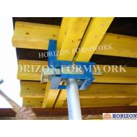 Q235 Steel Slab Formwork Systems Table Head 230*145mm To Clamp Double H20 Beams Manufactures