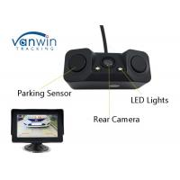 Universal Vehicle Hidden Camera , Night Vision Reverse Camera With 2 Parking Radar Sensor