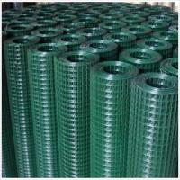 China Green vinyl coated welded wire mesh on sale