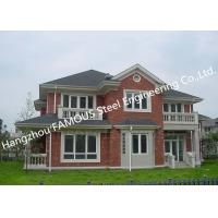 Prefabricated Luxury Light Weight Customized Pre-Engineered Building Steel Villa House Manufactures