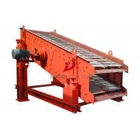 Carbon Steel Circular Vibrating Screen , Industrial Sand Sieving Machine Manufactures