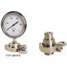 Buy cheap Sanitary Diaphragm Pressure Gauge from wholesalers