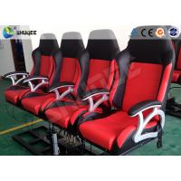 Pneumatic System 6d Motion Theater With Spary Water , Sweep Leg , Can Holding 200 People Manufactures