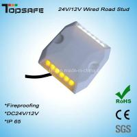 Dia 5mm LED Plastictunnel LED Wired Road Stud Manufactures