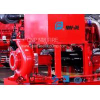 300GPM@110PSI Centrifugal Fire Pump 254 Feet With 42.5KW Max Shaft Power Manufactures