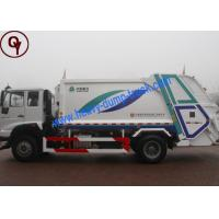 6x4 Power Wheel Garbage Collection Truck , 10 Tons Waste Management Vehicles Manufactures