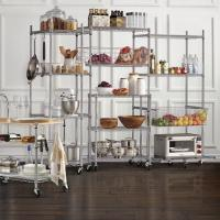 "12""D Commercial Wire Shelving NSF Grade Kitchen Metal Storage Wire Rack Units Manufactures"