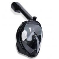 Full Head Diving Mask Anti - Fog , Seaview 180 Snorkel Mask Easy Operation Manufactures