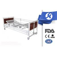 Patient Room Furniture Electric Hospital Bed / Foldable Hospital ICU Bed Manufactures