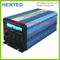 China NEW LCD display 12v to 220v 2000W modify sine wave inverter with charger on sale