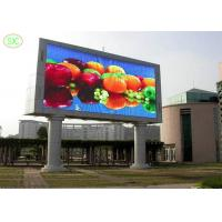 Steel And Aluminum Led Advertising Board P10 Outdoor Led Display smd3535 Manufactures