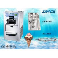 Floor Type Small Commercial Soft Serve Ice Cream Machine 3 Flavors 25 Liters/Hour Manufactures