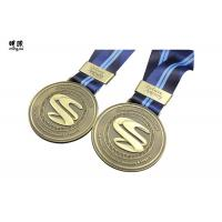 Round Shape Custom Engraved Medals Military Use , Cool ...