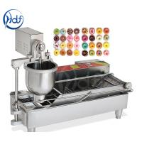 Professional Automatic Donut Maker Machine , Commercial Mini Donut Fryer Machine Manufactures