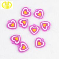 Pink Loom Silicone Bracelet Charms For  Rubber Bands Bracelets Making Manufactures